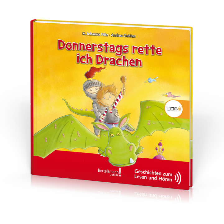 Cover_TING_Donnerstags rette ich Drachen